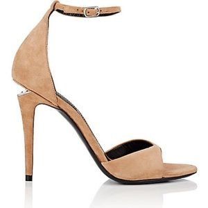 Alexander Wang Nude Tilda Sandals with Ankle Strap